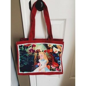Disney Alice in Wonderland Tote